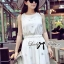 DR-LR-105 Lady Christen Super Glam Embellished Chiffon Dress thumbnail 3