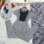Plaid suit จั้มสูทขายาวงานผ้าทอลายสก็อต thumbnail 4