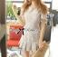 DR-LR-114 Lady Corey Sweet Mixed Print Ruffle Dress thumbnail 11