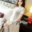 DS-PP-024 Lady Brie Sweet Classic White Lace Peplum Set thumbnail 2
