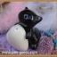 กระปุกพริกไทยเซรามิกหมี หมา แมว หมู กอดหัวใจ thumbnail 2