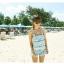 SM-V1-072 ชุดว่ายน้ำแฟชั่น คนอ้วน เด็ก ดารา thumbnail 2