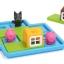 BO056 Three Little Piggiesเกมส์บอร์ด เสริมพัฒนาการ เกมลูกหมูสามตัว ฝึกการแก้ปัญหา และไหวพริบ thumbnail 4