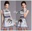 Lady Mary Royal Haute Couture Print Dress thumbnail 2