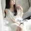 DR-LR-098 Temperley London Giovanna Embellished White Tunic Dress thumbnail 13