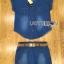 Lady Cindy Little Western Cowboy Denim Shirt and Shorts Set with Belt L262-8507 thumbnail 15