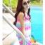 SM-V1-234 ชุดว่ายน้ำแฟชั่น คนอ้วน เด็ก ดารา thumbnail 13