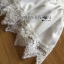 Lady Eva Classic White Polyester and Lace Ruffle Dress L250-79B02 thumbnail 14