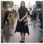 Dress สีดำดี ผ้าฉลุลาย thumbnail 1