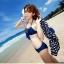 SM-V1-040 ชุดว่ายน้ำแฟชั่น คนอ้วน เด็ก ดารา thumbnail 6