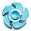 HF195 Fidget spinner -Hand spinner - GYRO (ไจโร) โลหะ รุ่น กงจักร thumbnail 1