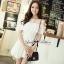 DR-LR-069 Lady Lara Sweet Casual Cotton Lace Mini Dress thumbnail 9