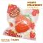 I059 I-bloom SUPER BIG STRAWBERRY RED 1 ชิ้น สกุชชี่ ไอบูม จัมโบ้ สตอเบอร์รี่ สีแดง ขนาด 14 CM thumbnail 2