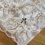 Lady Rachel White Chiffon Top and Embroidered Organza Lace Set L158-79B05 thumbnail 9