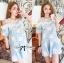 Lady Alexandra Minimal Chic Polka Dot Mini Dress =690.- บาท เดรสสั้น มินิเดรส เดรสน่ารัก ชุดเดรสสวยๆ แฟชั่นเกาหลีพร้อมส่ง เดรสสั้นเสื้อแขนยาวแบบเรียบๆกับกระโปรง Layer ลายจุด ตัวนี้เป็นลุคแบบเรียบๆในสไตล์ minimal แบบสาวเกาหลี เหมาะกับสาวที่ไม่ชอบแต่งตัวเยอ thumbnail 5