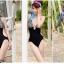 SM-V1-186 ชุดว่ายน้ำแฟชั่น คนอ้วน เด็ก ดารา thumbnail 8
