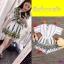 จั้มสูทขาสั้น งานผ้าทอ ลายดอกสไตล์สาวโบฮีเมี่ยน thumbnail 4