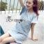 Lady Jill Geometry Flared-Sleeved Brocade Denim Dress L193-69C05 thumbnail 11