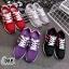 รองเท้าผ้าใบแฟชั่นลำลอง เสริมส้นเล็กน้อย ทรง Sport thumbnail 1