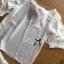 Lady Rachel White Chiffon Top and Embroidered Organza Lace Set L158-79B05 thumbnail 10
