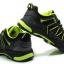 รองเท้าปั่นจักรยาน เสือภูเขา ลำลอง สีดำเขียว thumbnail 2