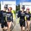 SM-V1-429 ชุดว่ายน้ำแขนยาว+บิกินี่ สีดำสกรีนลาย thumbnail 3