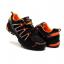 รองเท้าปั่นจักรยาน เสือภูเขา ลำลอง สีส้ม - TB22-B1285-0207 thumbnail 1