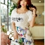 Lady Cathy Off-Shoulder Chiffon with Butterfly Printed Playsuit L260-7518 thumbnail 5