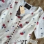 DR-LR-195 Lady Anna Sweet Mini Berries Print Chiffon Dress thumbnail 12