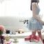 DR-LR-065 Lady Maria Pretty Delicate Pearly Denim Dress thumbnail 10