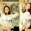 Lady Nadia Lace Crop Top in White L145-65C02 thumbnail 1