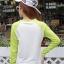 พร้อมส่ง เสื้อยืดแฟชั่นแขนยาว สีเขียว-ขาว thumbnail 4