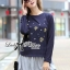 DR-LR-236 Lady Jewellery Embellished Sweater and Jersey Dress Set thumbnail 2