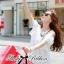 lady Charlotte Little White Lace Off-shoulder Mini Dress L156-49A05 thumbnail 7