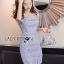 Lady Felicia Sexy Feminine Off-Shoulder Lilac Lace Dress L271-7909 thumbnail 4