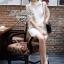 Lady Audrey White Mini Dress thumbnail 4