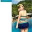 SM-V1-088 ชุดว่ายน้ำแฟชั่น คนอ้วน เด็ก ดารา thumbnail 5