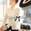 Lady Blaire Floral Embroidered Lace Shirt in White L274-7509 thumbnail 5