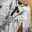 Miami Beach Embroidery Chiffon Dress thumbnail 10