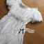 Lady Chloe Feminine Off-Shoulder Cotton and Lace Dress L188-75C08 thumbnail 15