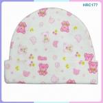 หมวกเด็กแรกเกิด ลายการ์ตูนน่ารัก (ขายแพ็ค 12 ใบ)