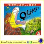 Quiet ! - Picture Book ad CD Set หนังสือนิทานพร้อมซีดีประกอบ เงียบหน่อยนะ Guy Parker-Rees