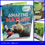 Discovery : Amazing Nature หนังสือชุดเปิดสู่โลกกว้าง ธรรมชาติที่น่าตื่นตาตื่นใจ