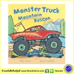 Busy Wheels : Monster Truck Mountain Rescue : Peter Bently & Martha Lightfoot นิทานภาพ รถบิ๊กฟุต