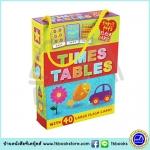 Tiny Tots Flash Cards - Times Tables : 40 Large Cards in a Carry Case แฟลชการ์ด สูตรคูณ เด็กเล็ก