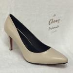 รองเท้าคัชชูส้นเตี้ย ไซส์ใหญ่ หน้ากว้างพิเศษ ไซส์ 40-44 EU จากแบรนด์ Chowy รุ่น CH0135