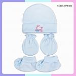 ชุดหมวก ถุงมือ ถุงเท้า ผ้าลิปเข้าชุดกัน (แพ็ค 12 เซ็ต)