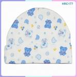 หมวกเด็กแรกเกิด ลายการ์ตูนน่ารัก (ขายแพ็ค 6 ใบ)