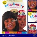 Minibeasts Foundations หนังสือรวมกิจกรรมการสอน แมลง