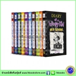 Jeff Kinney : Diary of a Wimpy Kid 10 Books Collection เซตบันทึกของวิมปีคิด 10 เล่ม รวมเล่มใหม่ Old School